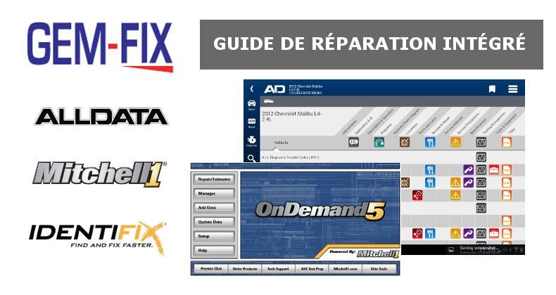 Gem fix guide de r paration automobile complet modules for Logiciel gestion garage automobile